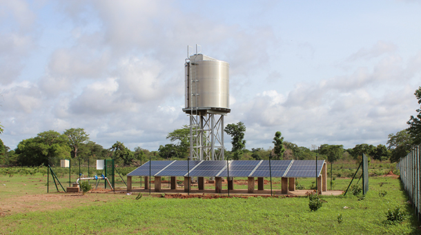 SOLAR23 is part of the currently largest solar water pumping project in Gambia