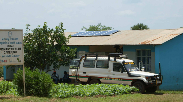 Solar power is paving the way for better healthcare in South Sudan